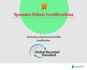 گواهینامه های Spandex موجود